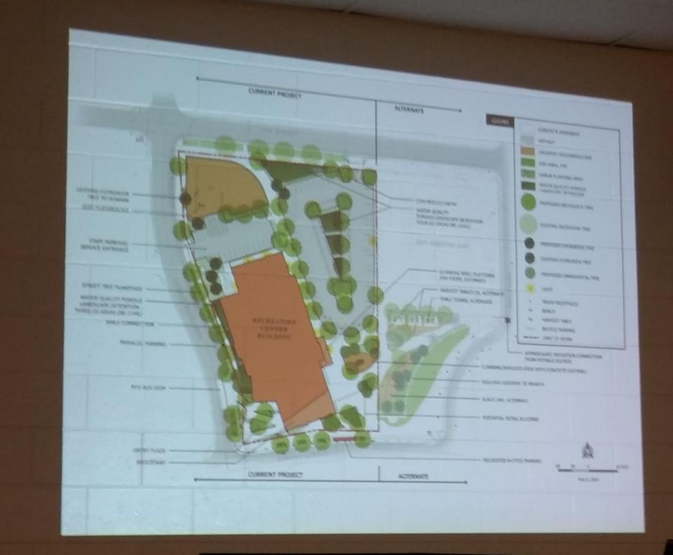 Overall site plan.