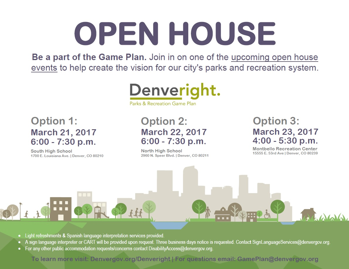 Game Plan Open House @ South High School  | Denver | Colorado | United States