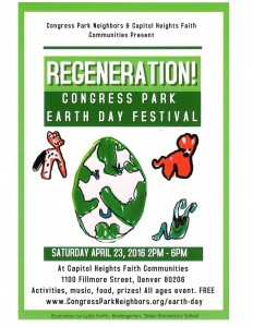 Earth Day Flyer 2016-Animals