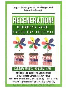 Earth Day Flyer 2016-FlowerPots
